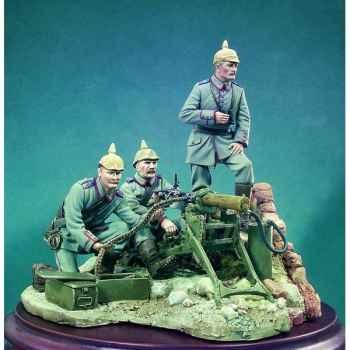 Figurine - Ensemble Nid de mitrailleuses, première guerre mondiale - S3-S01