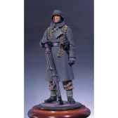 figurine mitrailleur allemand en hiver s5 f8