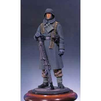 Figurine - Mitrailleur allemand en hiver - S5-F8