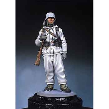 Figurine - Fantassin allemand  front occidental en hiver 1945 - S5-F31