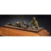 figurine mitrailleurs mg 42 waffen ss s5 s3