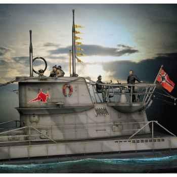 Figurine - U-Boat VII C  Loup des mers - S5-S9