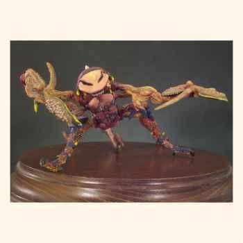 Figurine - Mantrykonicus  monstre de l'espace  - F-003