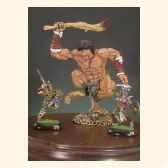 figurine cyclope et guerriers f 005