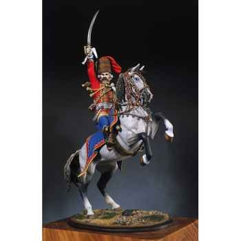 Figurine - Officier des hussards prussien en 1762 - S8-F20