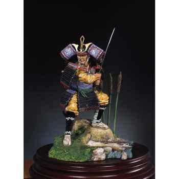 Figurine - Guerrier samouraï en 1300 - S8-F22