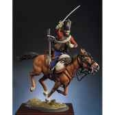 figurine hussard francais en 1813 s8 f24