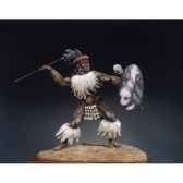 figurine guerrier zoulou isandlwana en 1879 s8 f12