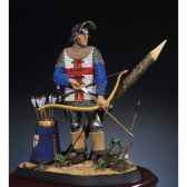 figurine archer anglais en 1475 s8 f9