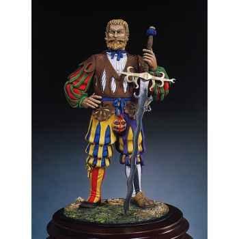 Figurine - Doppelsöldner en 1520 - S8-F8