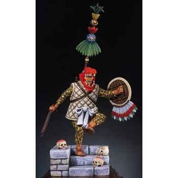 Figurine - Capitaine aztèque en 1521 - S8-F5