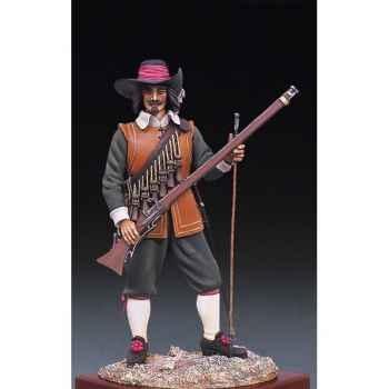 Figurine - Mousquetaire en 1643 - S8-F4