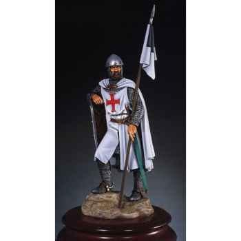 Figurine - Chevalier de l'ordre des Templiers en 1150 - S8-F1