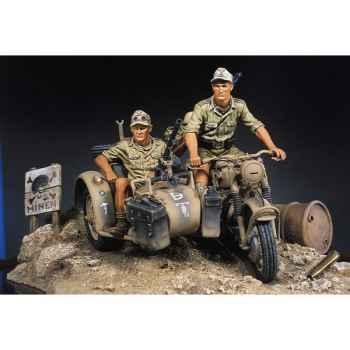 Figurine - Afrikakorps BMW-R75 - S8-S01