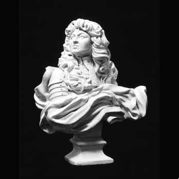 Figurine - Buste de Louis XIV - S8-A7
