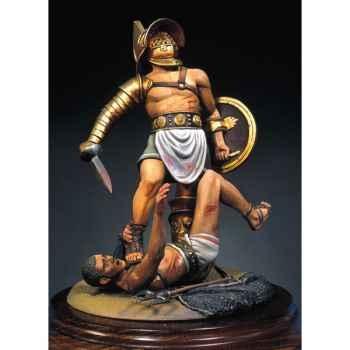 Figurine - Gladiateurs  pouces vers le bas en 100 ap. J.-C. - S8-S03