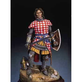 Figurine - Chevalier du Moyen Age en 1320 - S8-F26