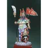 figurine guerrier chinois kua yu en 300 ap j c s8 f33