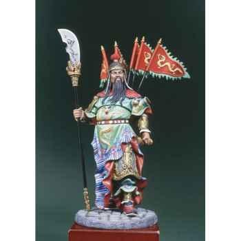 Figurine - Guerrier chinois  Kua Yu en 300 ap. J.-C. - S8-F33