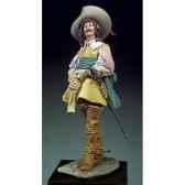 figurine mousquetaire en 1645 s8 f36