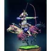 figurine samourai a chevaau xive siecle s8 f37