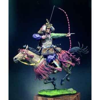 Figurine - Samouraï à cheval au  XIVe siècle - S8-F37