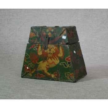 Coffre style tibétain 3 -KTR0011