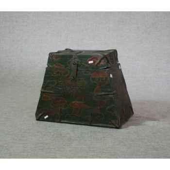 Coffre style tibétain 5 -KTR0013