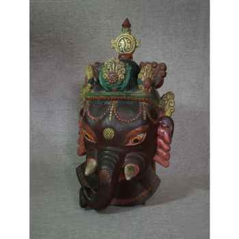 Masque style tibétain 1 -KTR0021