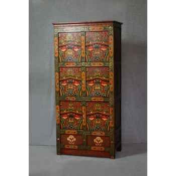 Armoire style tibétain 2 -KTR0036