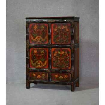 Armoirette style tibétain 4 -KTR0048