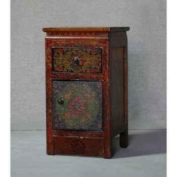 Armoirette style tibétain 8 -KTR0152