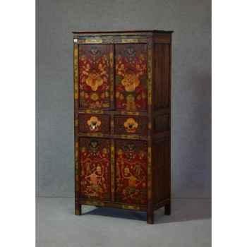 Armoire style tibétain 17 -KTR0231