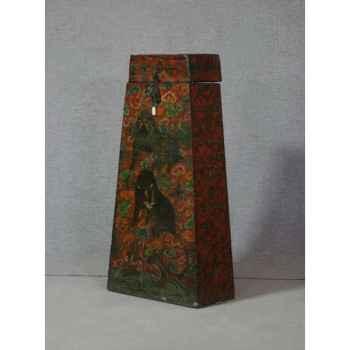 Coffre style tibétain 25 -KTR0237