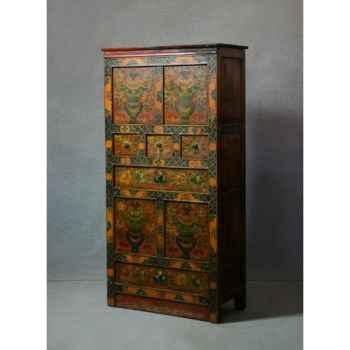 Armoire style tibétain 19 -KTR0320