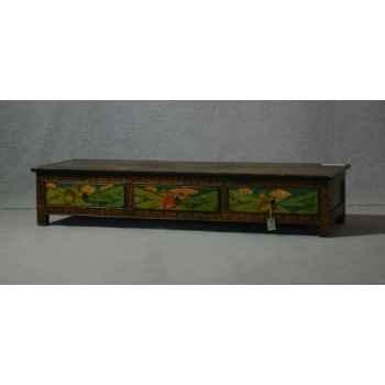 Banc style tibétain 10 -KTR0331