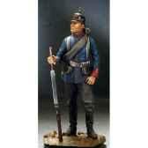 figurine fantassin prussien en 1870 sg f113