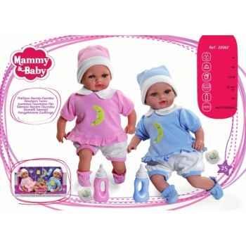 Poupées Jumeaux nouveaux nés Arias -22062