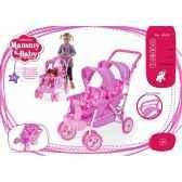 poussette double mammy baby arias 40319