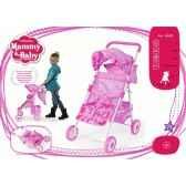 poussette et porte bebe mammy baby arias 40325