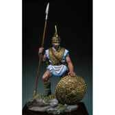 figurine guerrier etrusque en 700 av j c sg f057