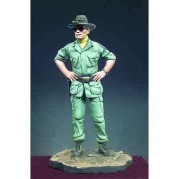 Figurine - Officier de cavalerie de l'armée nord-américaine en 1970 - SG-F092