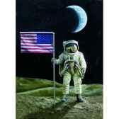 figurine le premier homme sur la lune sg f090