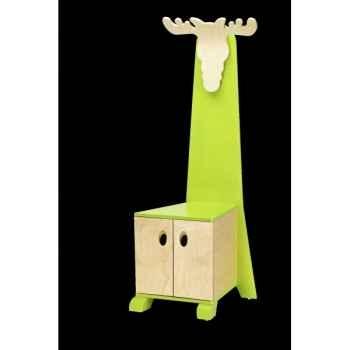 Chaise trône elan verte Janoschik -1000LG