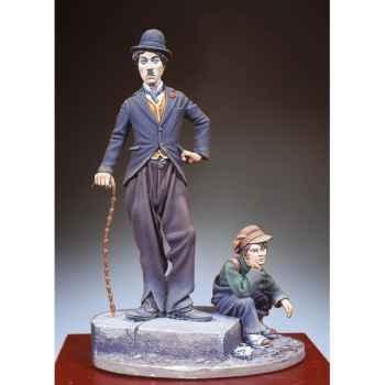 Figurine - L'enfant et le vagabond - SG-F079