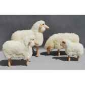 petit mouton paturant 50 cm meier 40211