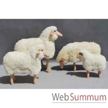 Petit mouton pâturant 50 cm Meier -402.11