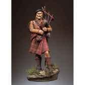 figurine joueur de cornemuse ecossais en 1690 sg f082