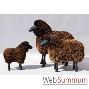 Mouton noir 80 cm Meier -401.20