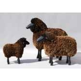 agneau noir 45 cm meier 40320